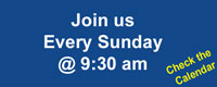 join us for a sunday service